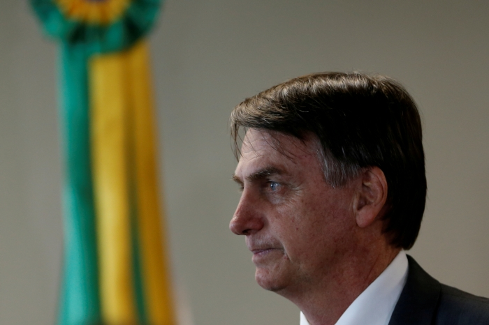 Brazil's President Jair Bolsonaro REUTERS/Adriano Machado - RC1876A15990/File Photo